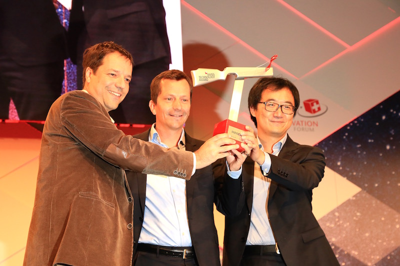 """GratXray AG -  winner of the Swiss Technology Award 2017 in the category """"Inventors"""""""