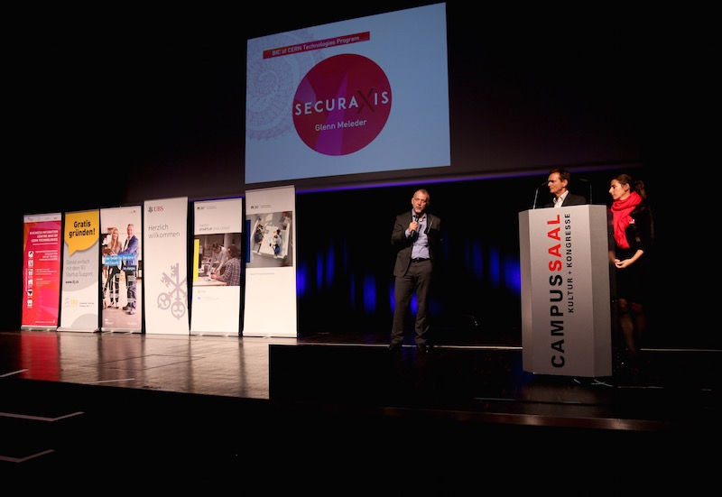 Securaxis - the first incubatee of BIC of CERN Technologies