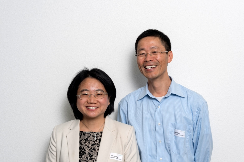 Yuhong Dong and David Guan, SunRegen Healthcare