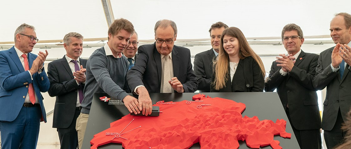 Federal Councillor Parmelin Lays Foundation Stone for Switzerland Innovation's First New Building in Biel