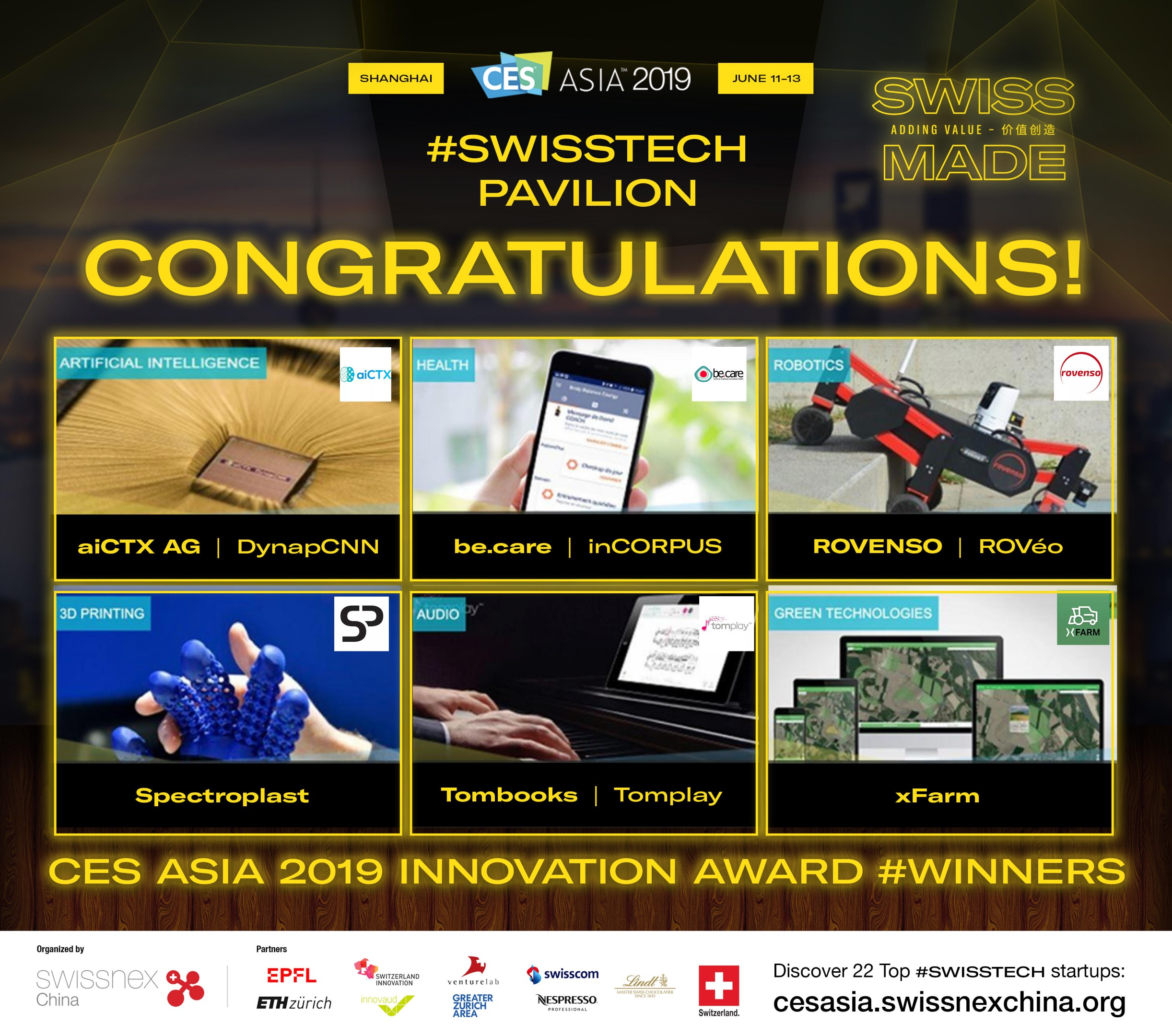 CES Asia 2019 Innovation Award #Winners