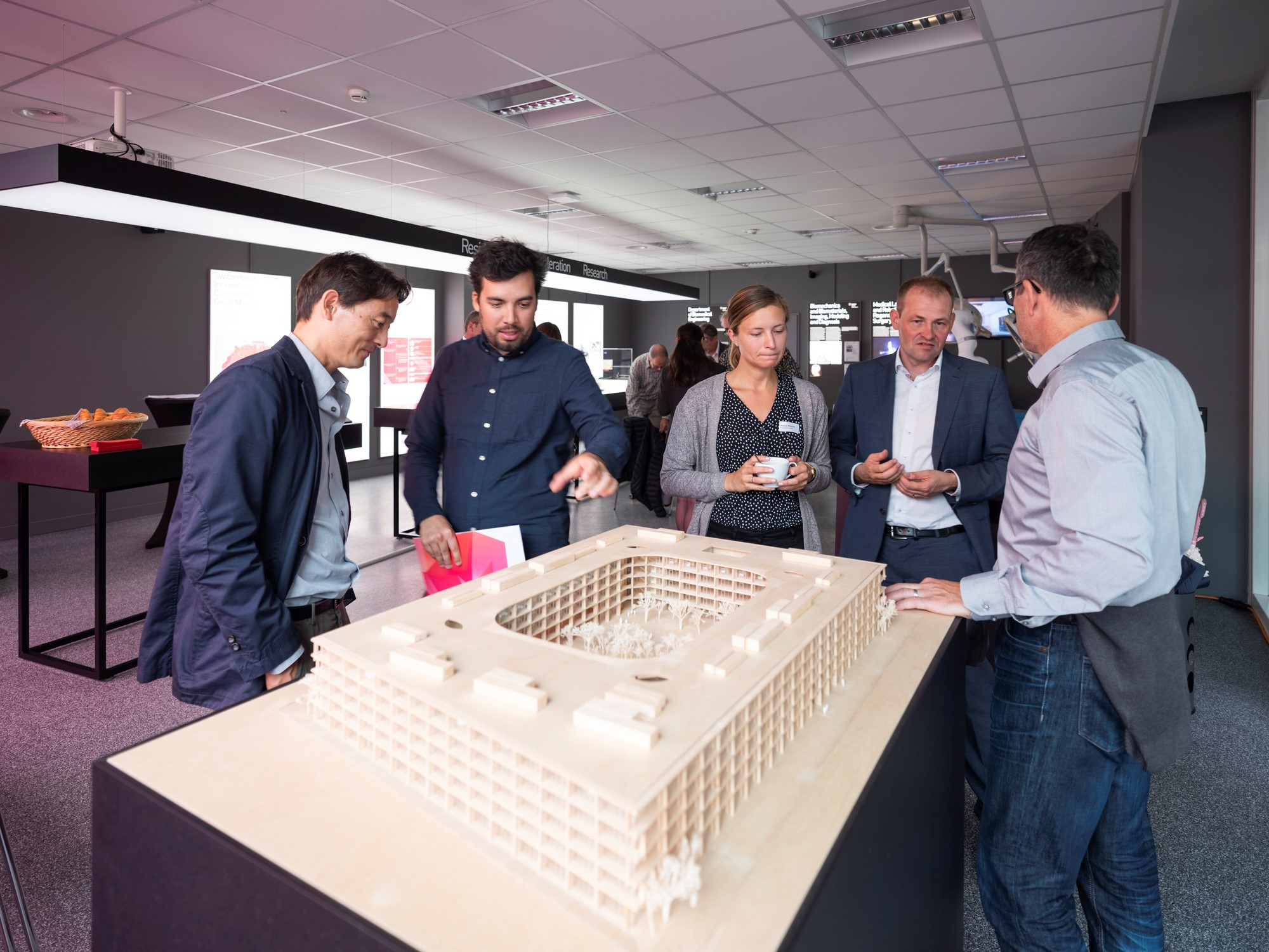 GRID Campus of Collaboration @Showroom Switzerland Innovation Park Basel Area in Allschwil