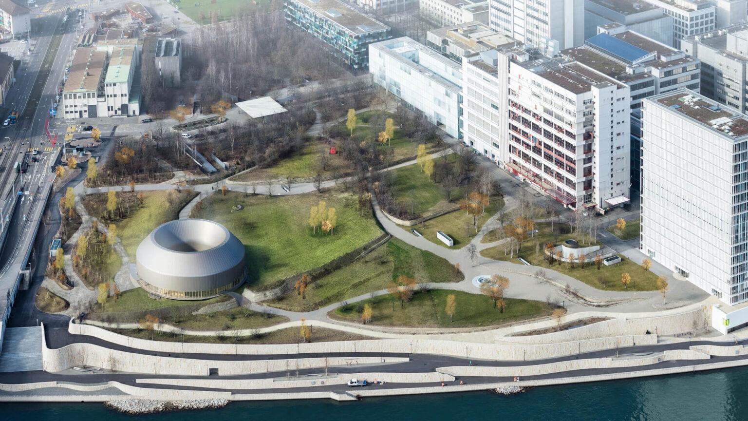 Novartis Pavilion (under construction)