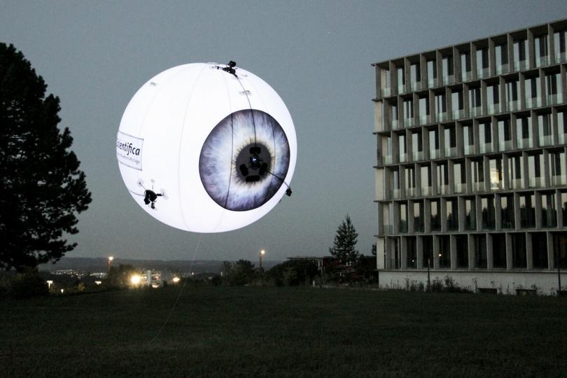 AEROTAIN – die sicherste Drohne der Welt im Innovationspark Zürich