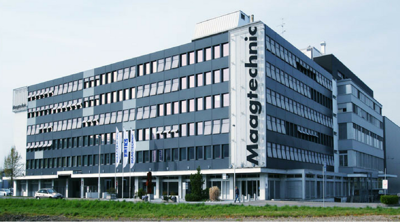 The first offices at Switzerland Innovation Park Zurich at Maagtechnic