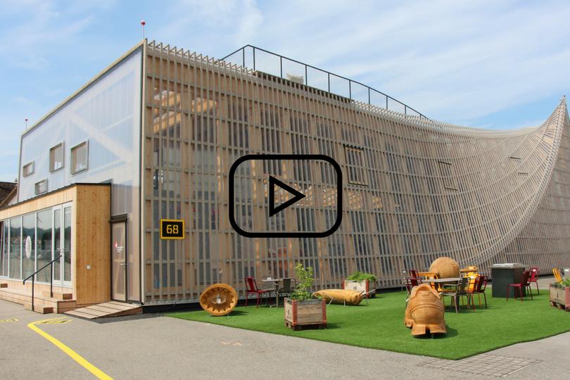Internet of Things im Pavillon des Innovationsparks Zürich