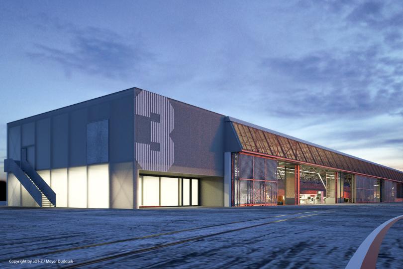 Hangar 3 nach Umbau