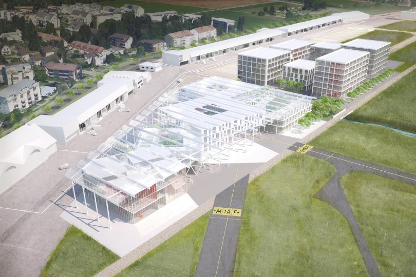 Vision des Innovationsparks Zürich: erste Neubauten