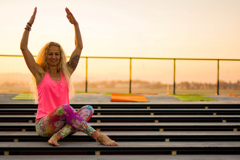 Rooftop-Yoga Innovationspark